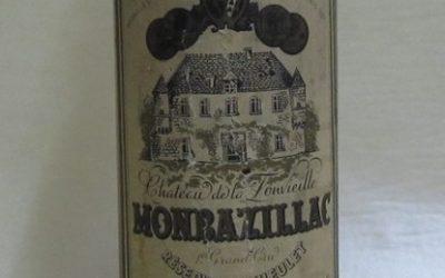 Monbazillac – Réserve du Theulet – Domaine de la Fonvieille 1923