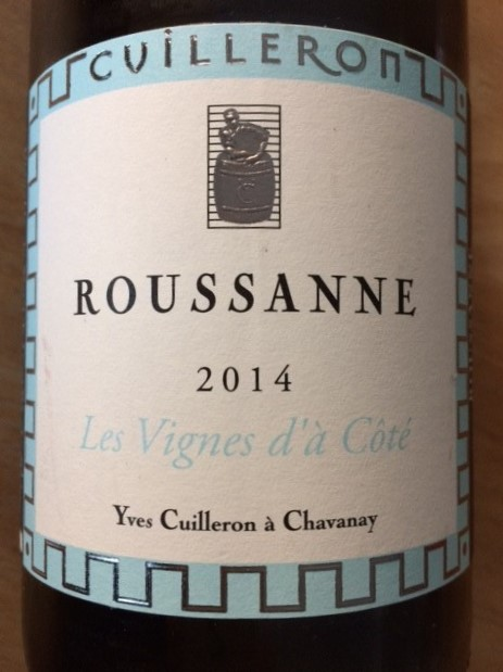 Roussanne – Les Vignes d'à Côté – Y. Cuilleron 2014